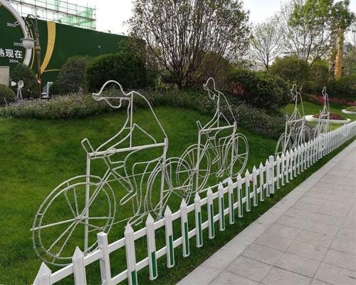 草坪护栏安装